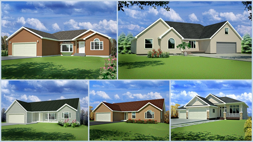 Cad house plans as low as 1 per plan for Home design packages